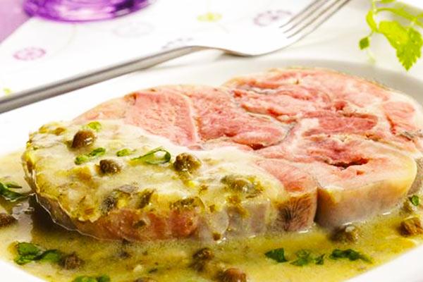 Tête de veau sauce gribiche Fromage ou dessert en Haute-Vienne | Le Relais de la Tour